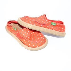 Sanuk Little Girl's Hot Dotty Flat